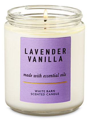 Lavender Vanilla Single Wick Candle