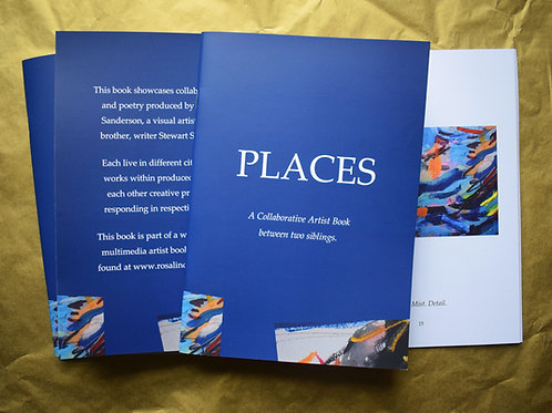 'Places'. Artist Book.