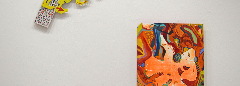 Natural Rhythm and Sunspots: installation view.