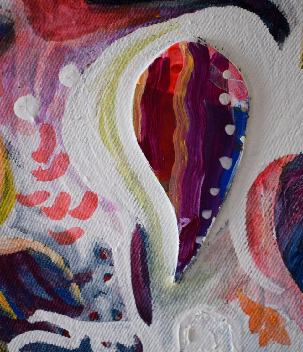 Currents I close up
