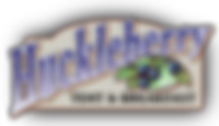 Huckleberry Tent and Breakfast logo