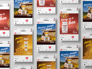 Bee Products Social Campaign