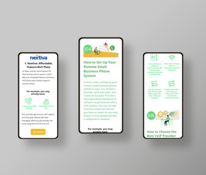 VoIP Landing Page
