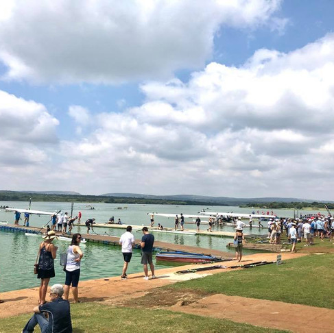 Sunzee South Africa launches at SA Rowing Champs!