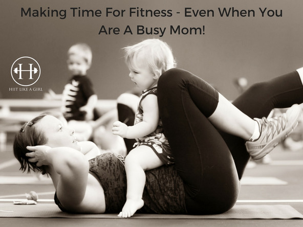 Making Time For Exercise As A Mom