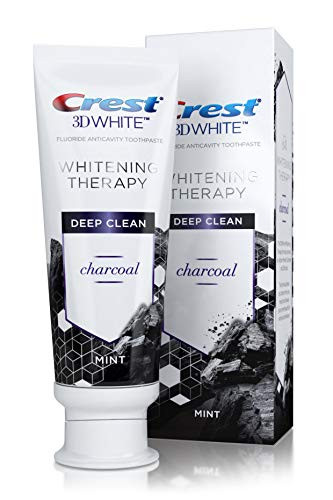 BRUSHING WITH CHARCOAL TOOTHPASTE?