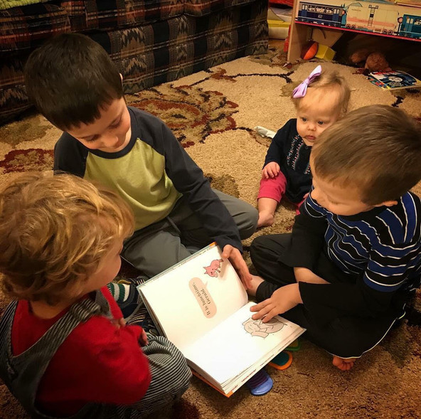 Reading Tips for Moms of Preschoolers