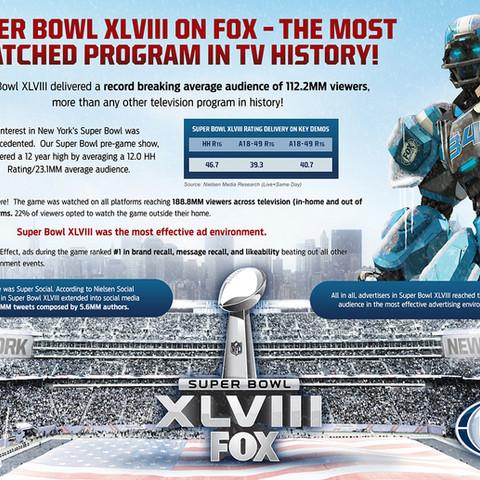 Super Bowl XLVIII One-Sheet