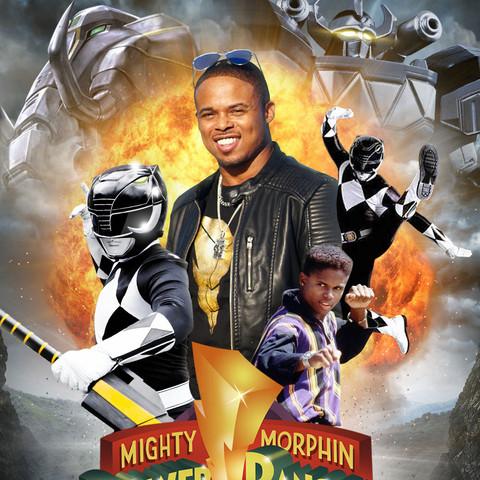 Black Ranger MMPR 25th Anniversary