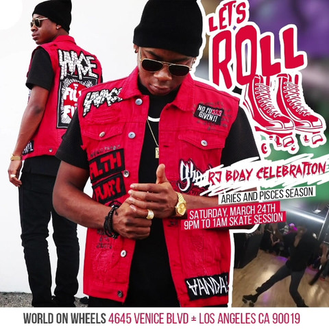 RJ Cyler's Bday Celebration