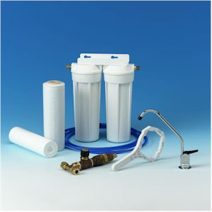 Premium Domestic Water Filter with FREE Upgrade to a Deluxe Designer Filter Tap