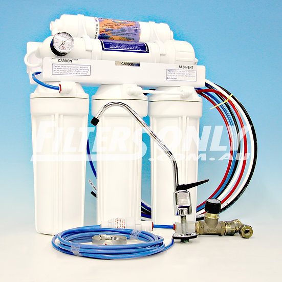 FFW 5000+ - 5 STAGE REVERSE OSMOSIS SYSTEM with Alkaline Filter