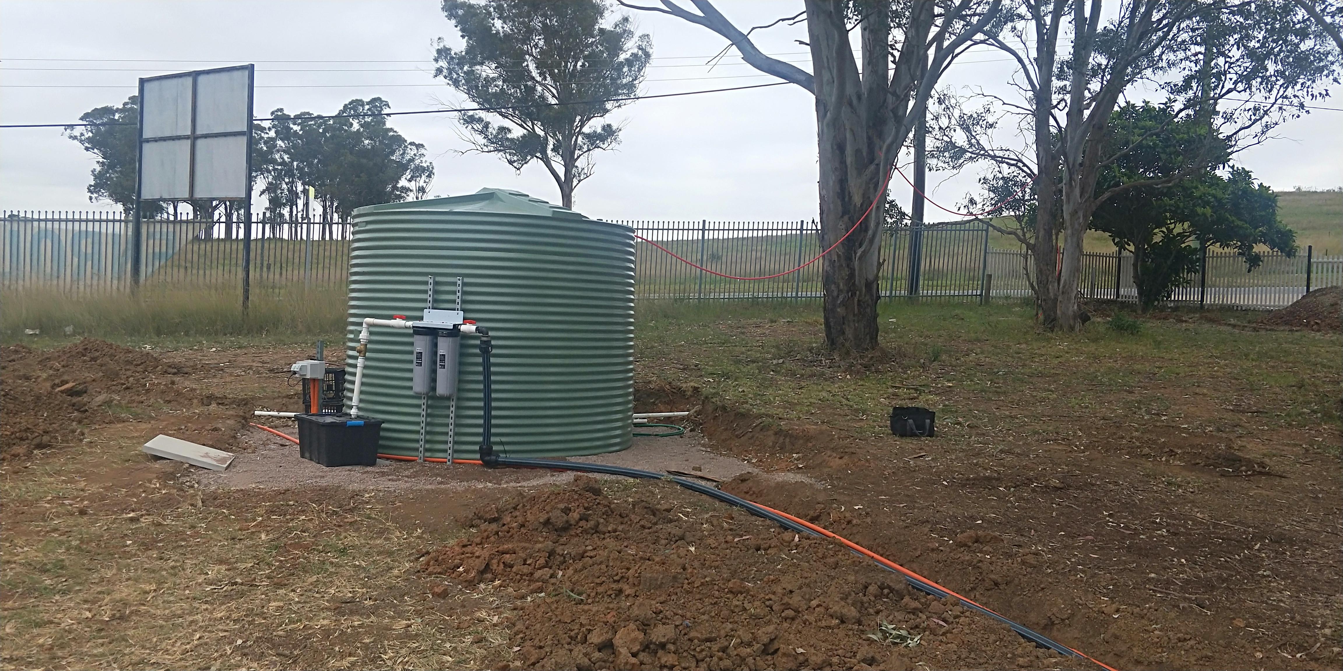 Tank Water Testing
