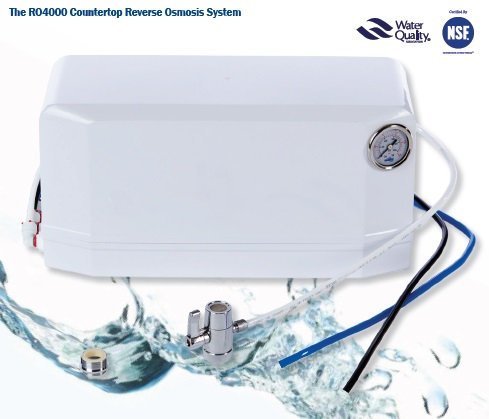FFW RO4000 - Portable 4  STAGE REVERSE OSMOSIS SYSTEM