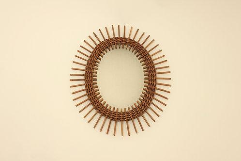 Rattan mirror/Ratanové zrcadlo
