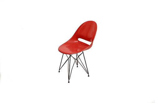růžová židle Vertex/Dark pink Vertex chair