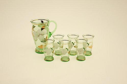 Skleněná souprava/Glass set