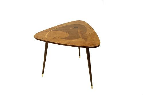 Intarsia coffee table/Kávový stolek s intarzí