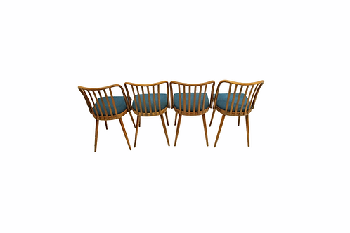 4 chair set/Sada židlí