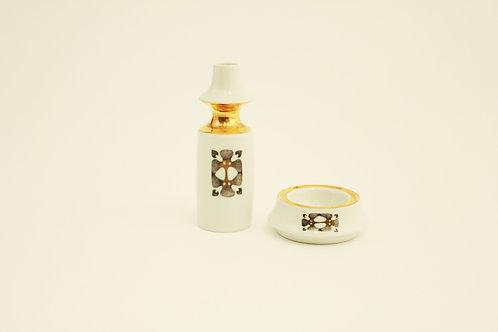 Vase and ashtray/Váza a popelník