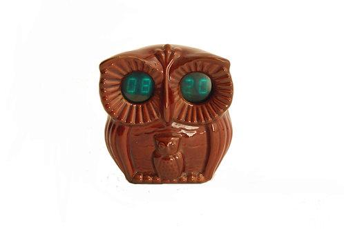 Keramické hodiny sova/Owl clock