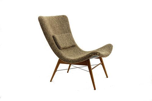 Pair of fibreglass chairs/Párová laminátová křesla