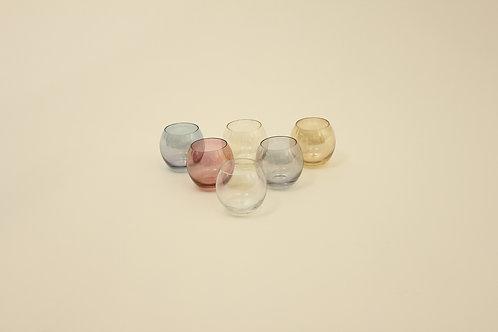 Glasses or candleholders/Skleničky či svícny