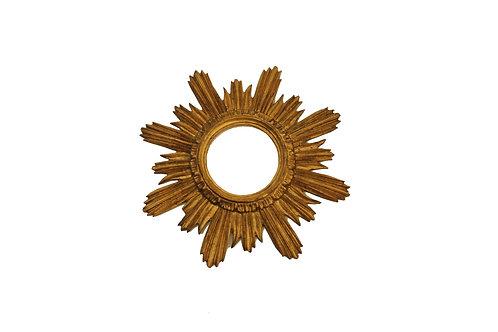 Sunburst frame/Zlatý dřevěný rám