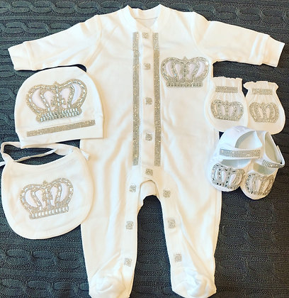 Royal Crown Baby Set