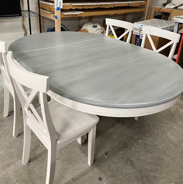 After: Gray Stain