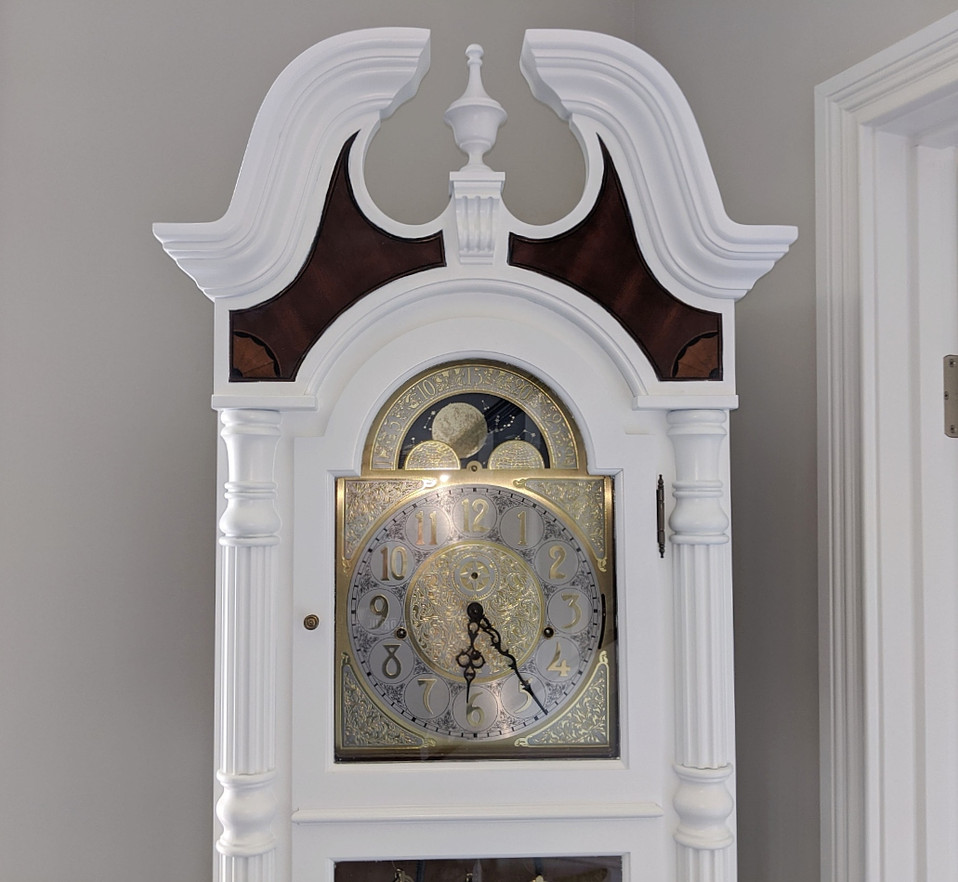 Grandfather Clock Detail