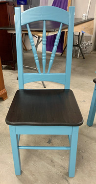 Dark Teal with Onyx stain