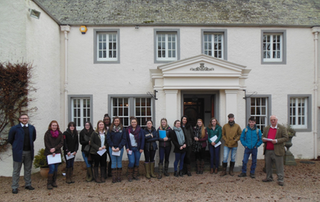 Chapelton - SRUC students visit Chapelton