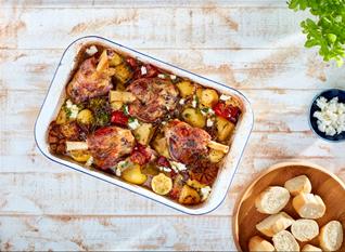 Welsh Lamb Shanks Kleftiko - Recipe