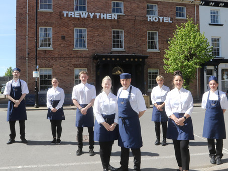 Busy First Month for The Trewythen's Six New Apprentices
