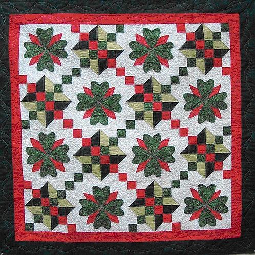PDF Quilt Pattern Lucky Irish Christmas