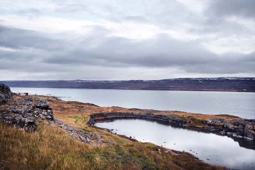 Saltverk, salt, Reykjanes, Vestfirðir, úr vör, vefrit