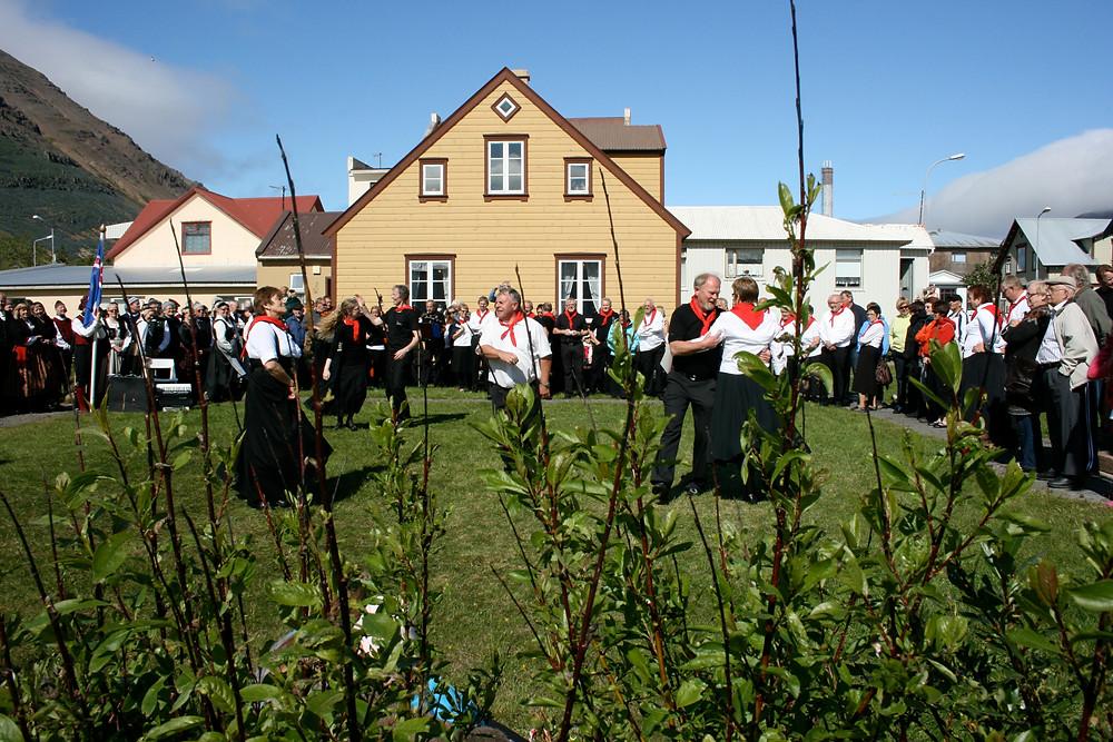 Þjóðlagasetur, Siglufjörður, menning, listir, landsbyggðin, norðurland, Þjóðlagahátíð, úr vör, vefrit