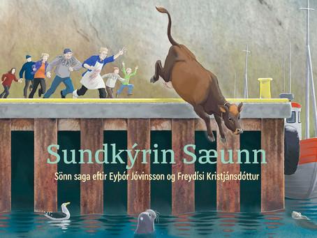 Sundkýrin Sæunn verðlaunuð
