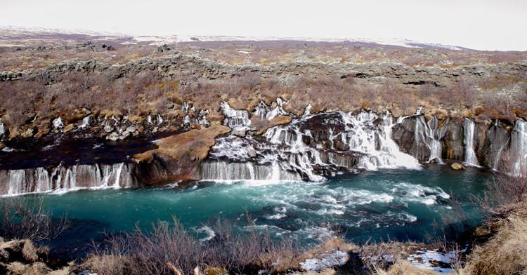 Iceland Writers Retreat, Roman Gerasymenko, úr vör, vefrit, Hraunfossar