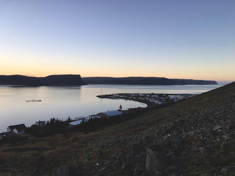 Háskólasetur Vestfjarða, Patreksfjörður, Julie Gasiglia, úr vör, vefrit