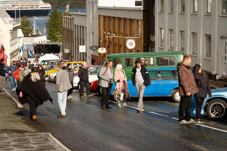 Gildagar, Akureyri, menning, úr vör, vefrit