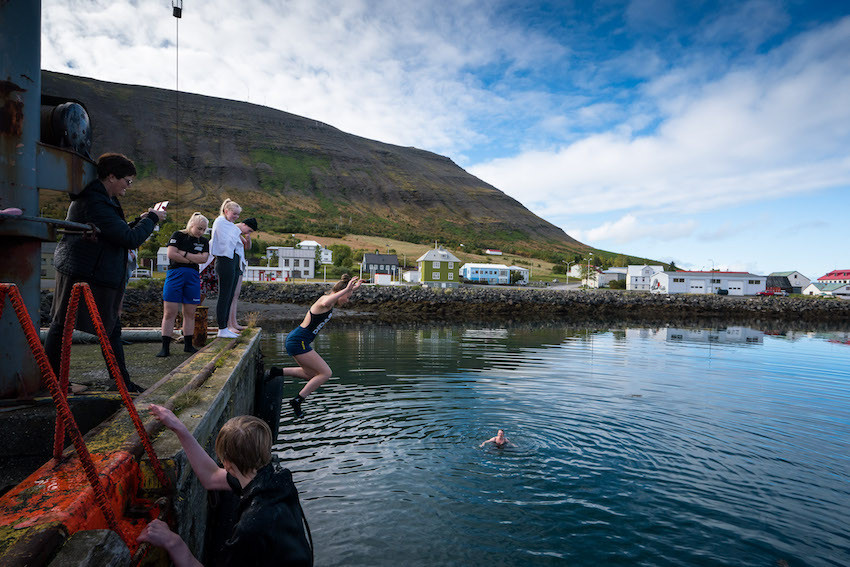 Ellen Wild, column, writing, Dýrafjarðardagar, Dýrafjörður, summer, Þingeyri, landsbyggðin, Vestfirðir, Haukur Sigurðsson, úr vör, vefrit