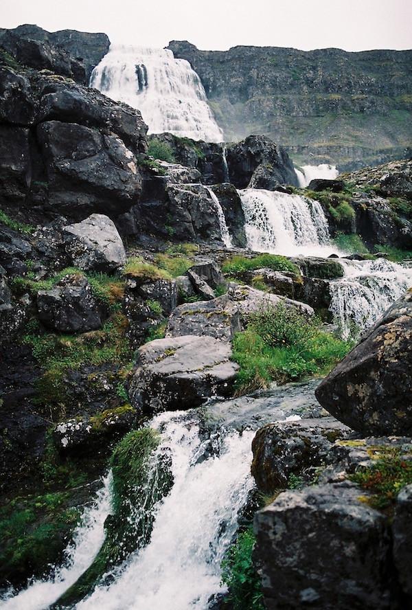 Dynjandi, Ellen Wild, waterfall, nature, Westfjords, countryside, úr vör, vefrit, Aron Ingi Guðmundsson