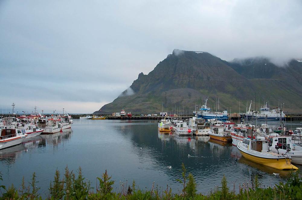 Högni fer Vestur, tónleikar, Vestfirðir, Bolungarvík, landsbyggðin, Julie Gasiglia, úr vör, vefrit