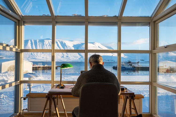 Blábankinn, Arctic digital nomads, Haukur Sigurðsson, úr vör, vefrit