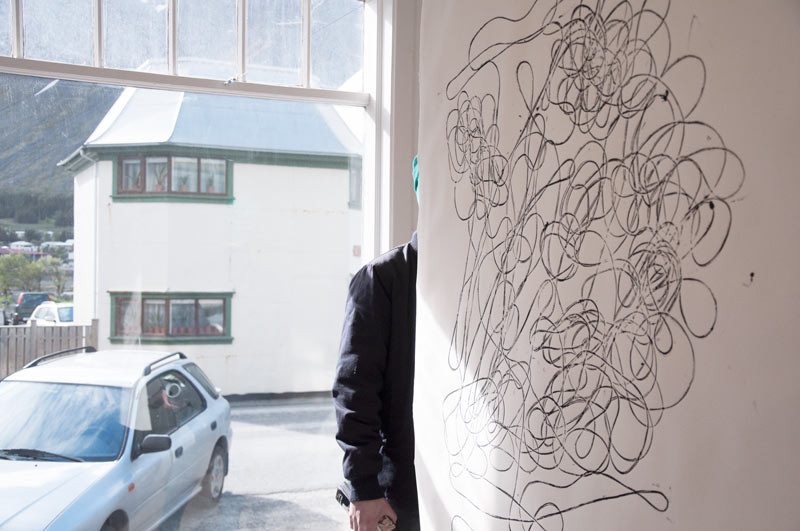 ArtsIceland, Gallerí Úthverfa, Ísafjörður, gestavinnustofa, art residency, úr vör, vefrit