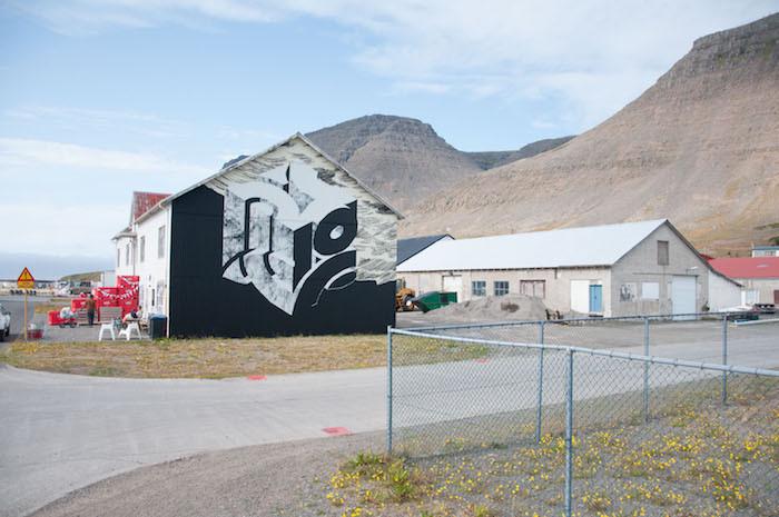 Krot og Krass, vegglistafólk, list, Húsið Creative Space, Patreksfjörður, verbúðin, Julie Gasiglia, landsbyggðin, úr vör, vefrit