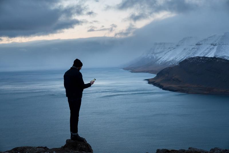 Arctic Digital Nomads, Þingeyri, Haukur Sigurðsson, úr vör, vefrit