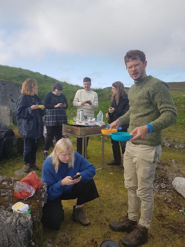 Röstin, Langanes, Þórshöfn, listamannadvöl, list, landsbyggðin, Austurland, úr vör, vefrit